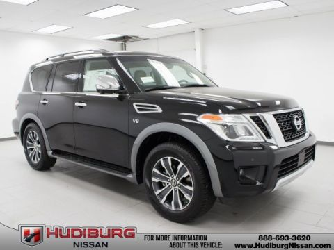 New 2017 Nissan Armada SL With Navigation & 4WD