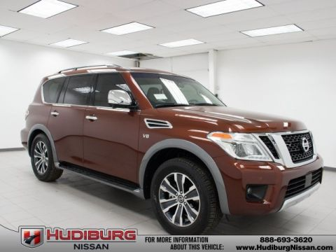 New 2017 Nissan Armada SL Technology & Moonroof Package RWD 4D Sport Utility