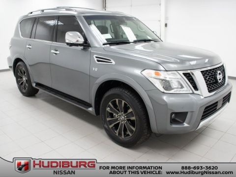 New 2017 Nissan Armada Platinum Captain's Chairs Package AWD 4D Sport Utility
