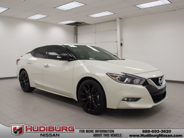 new 2017 nissan maxima sr 4d sedan in oklahoma city 55062 hudiburg nissan. Black Bedroom Furniture Sets. Home Design Ideas